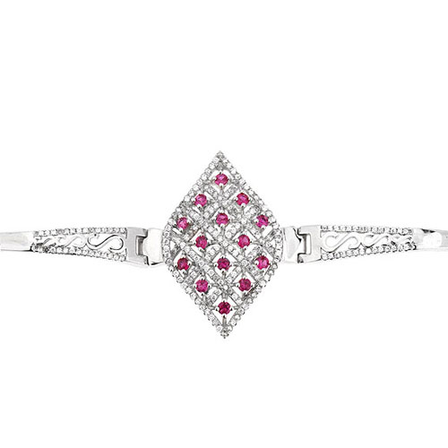 bracelet femme argent zirconium 9500323 pic2