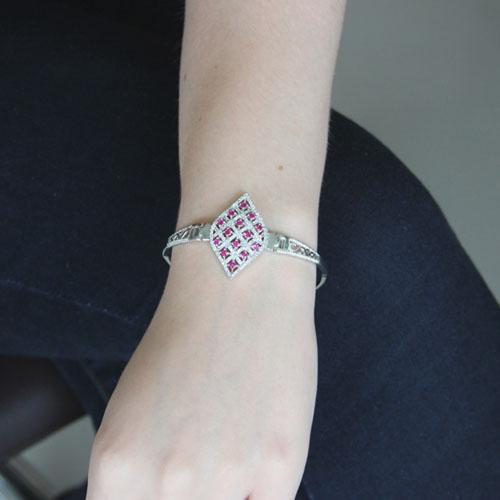 bracelet femme argent zirconium 9500323 pic4