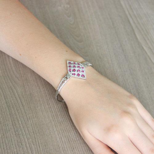 bracelet femme argent zirconium 9500323 pic5