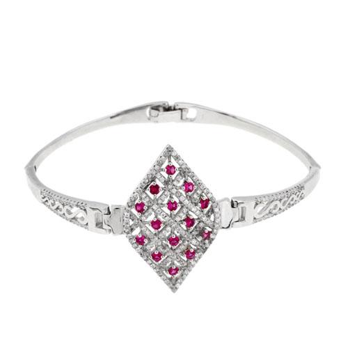 bracelet femme argent zirconium 9500323