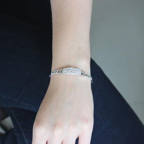 bracelet femme argent zirconium 9500324 pic4