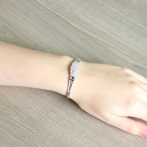 bracelet femme argent zirconium 9500324 pic5