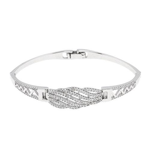 bracelet femme argent zirconium 9500324