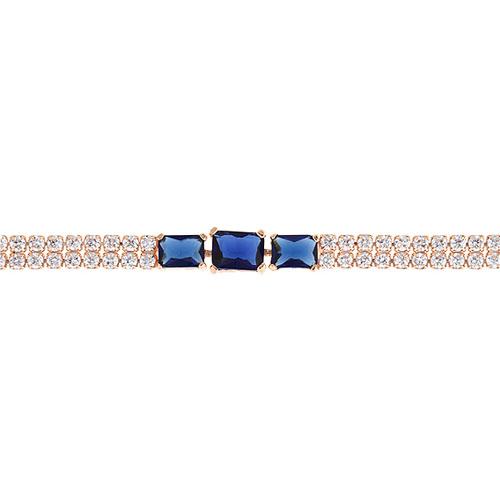 bracelet femme argent zirconium 9500403 pic2