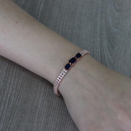 bracelet femme argent zirconium 9500403 pic4