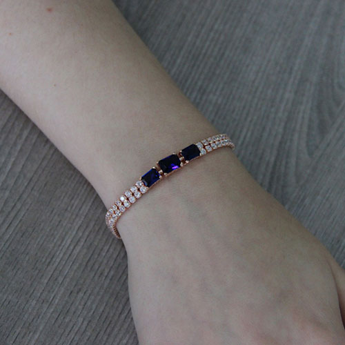 bracelet femme argent zirconium 9500403 pic5
