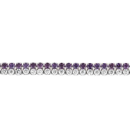 bracelet femme argent zirconium 9500404 pic2
