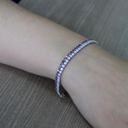bracelet femme argent zirconium 9500404 pic5