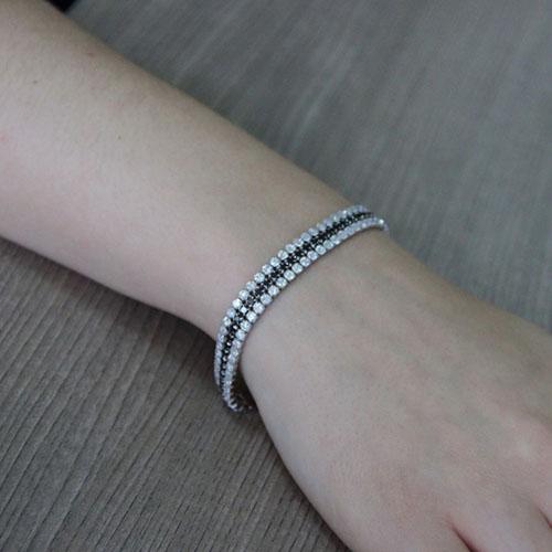 bracelet femme argent zirconium 9500406 pic5