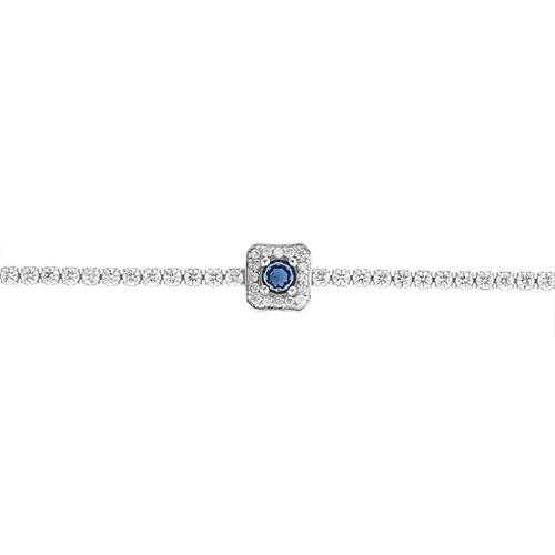 bracelet femme argent zirconium 9500409 pic2