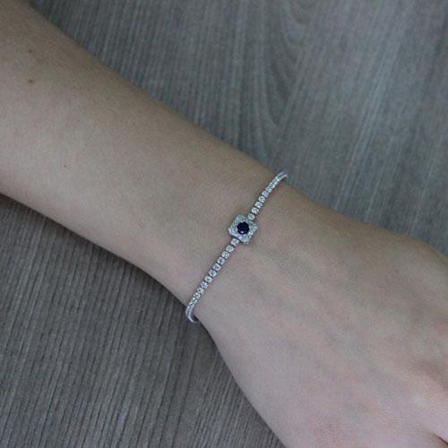 bracelet femme argent zirconium 9500409 pic4