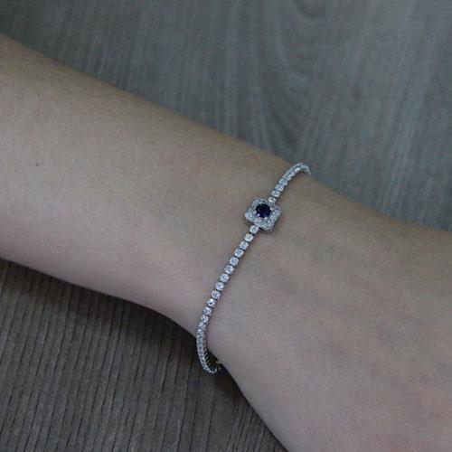 bracelet femme argent zirconium 9500409 pic5