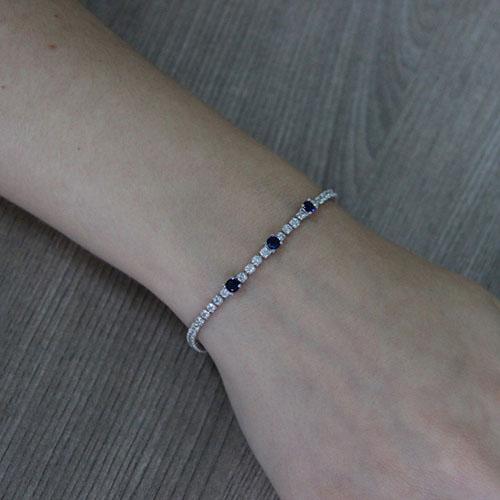 bracelet femme argent zirconium 9500410 pic4