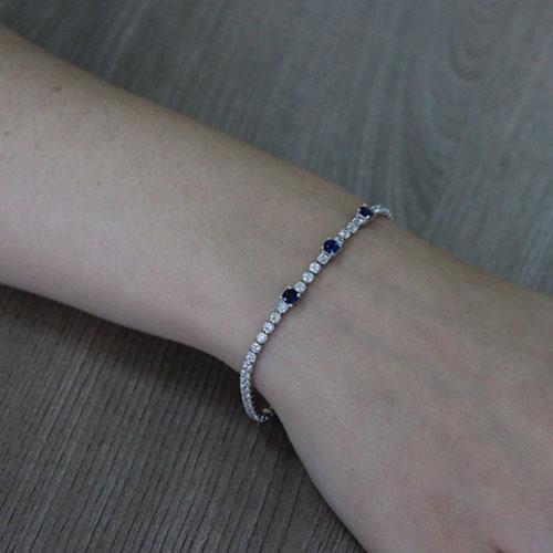 bracelet femme argent zirconium 9500410 pic5