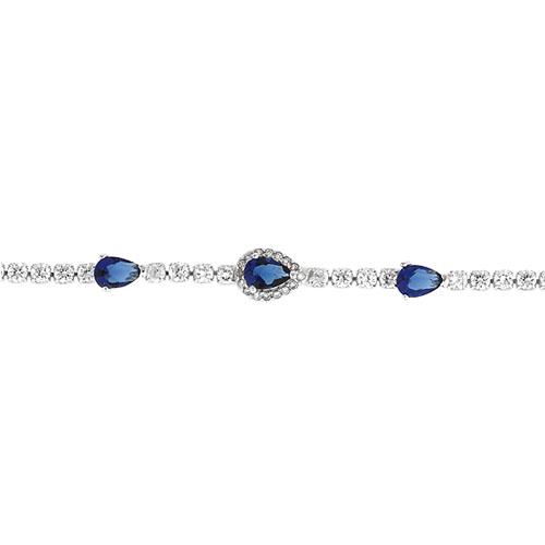 bracelet femme argent zirconium 9500411 pic2
