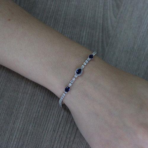 bracelet femme argent zirconium 9500411 pic4