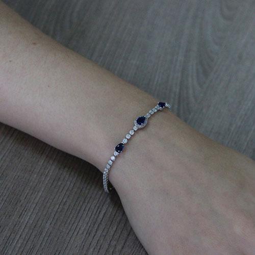 bracelet femme argent zirconium 9500411 pic5