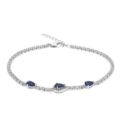 bracelet femme argent zirconium 9500411