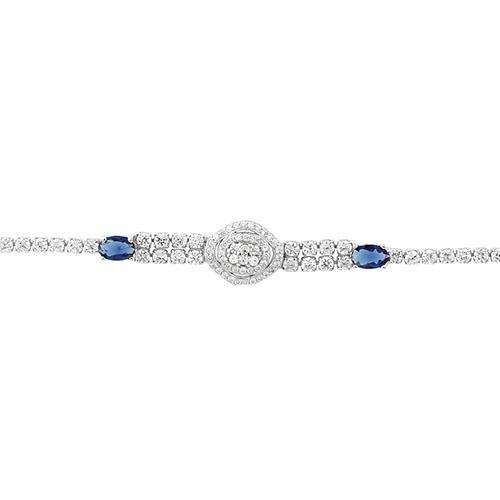 bracelet femme argent zirconium 9500412 pic2