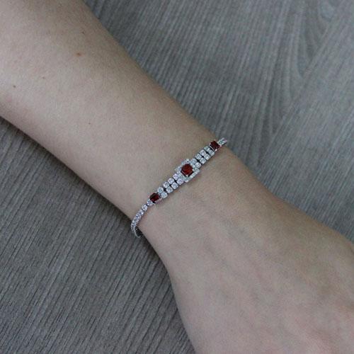 bracelet femme argent zirconium 9500414 pic4