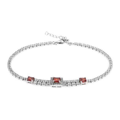 bracelet femme argent zirconium 9500414