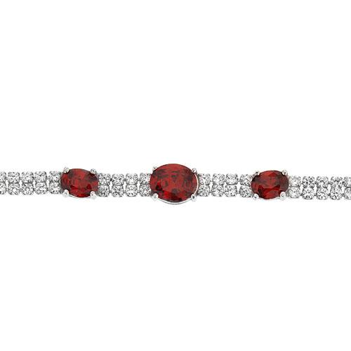 bracelet femme argent zirconium 9500415 pic2