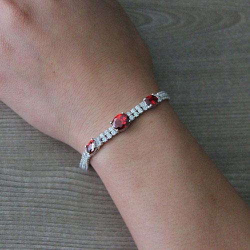 bracelet femme argent zirconium 9500415 pic4