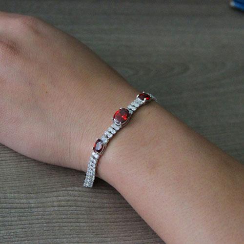bracelet femme argent zirconium 9500415 pic5