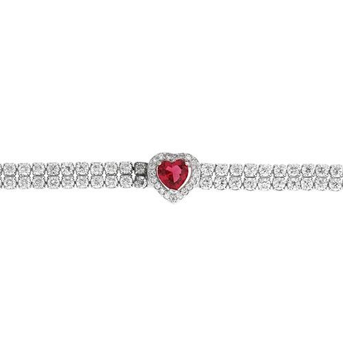 bracelet femme argent zirconium 9500416 pic2