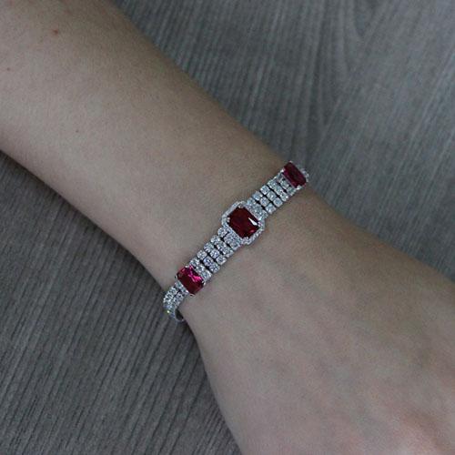bracelet femme argent zirconium 9500417 pic4