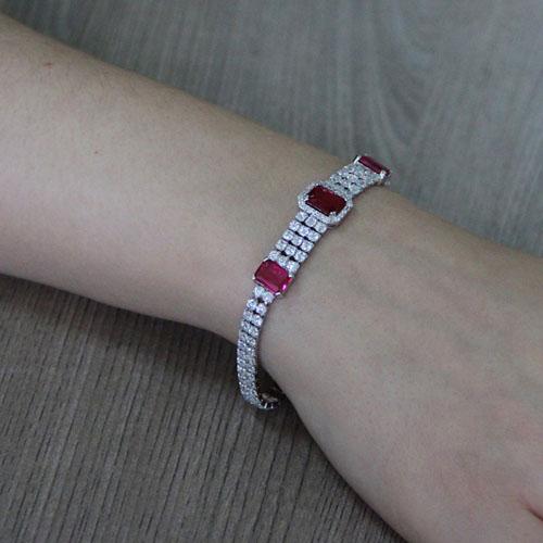 bracelet femme argent zirconium 9500417 pic5