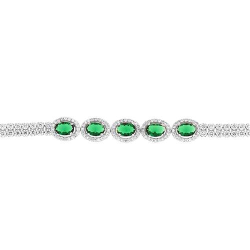 bracelet femme argent zirconium 9500419 pic2