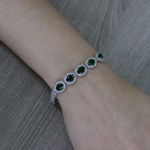 bracelet femme argent zirconium 9500419 pic4