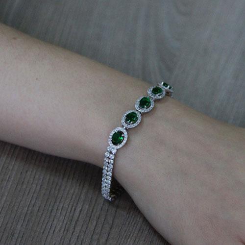 bracelet femme argent zirconium 9500419 pic5