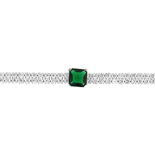 bracelet femme argent zirconium 9500420 pic2