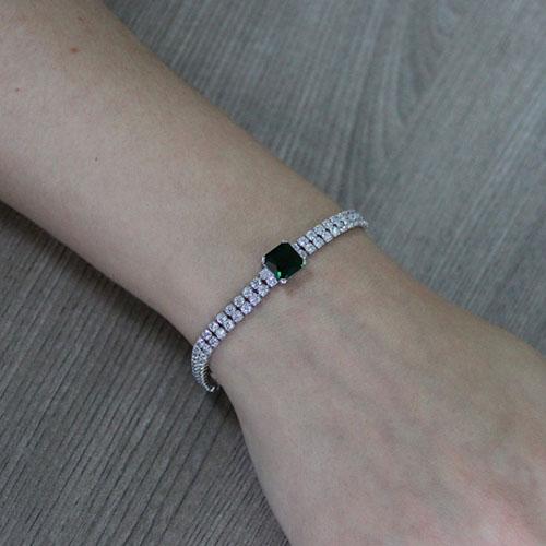 bracelet femme argent zirconium 9500420 pic4