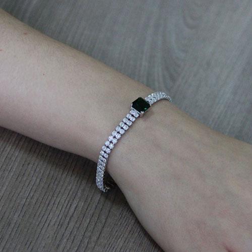 bracelet femme argent zirconium 9500420 pic5