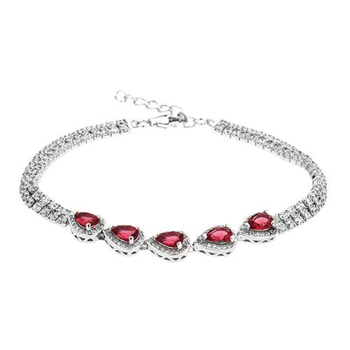 bracelet femme argent zirconium 9500422