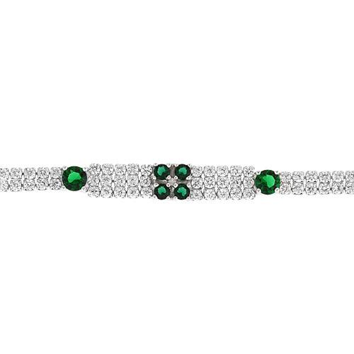 bracelet femme argent zirconium 9500425 pic2