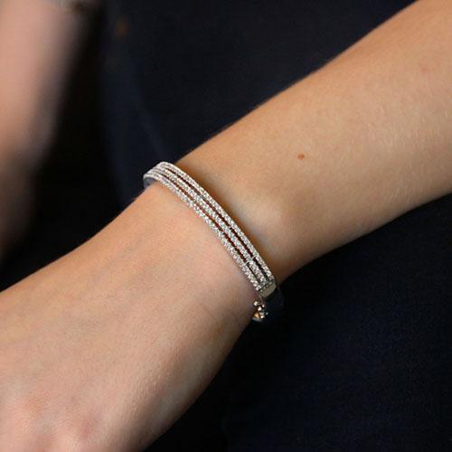bracelet femme argent zirconium 9600101 pic4