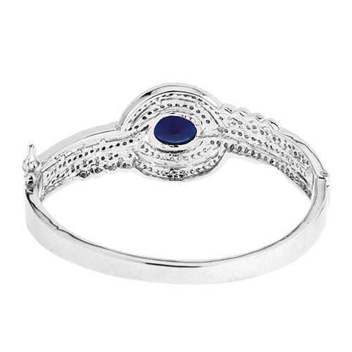 bracelet femme argent zirconium 9600103 pic3