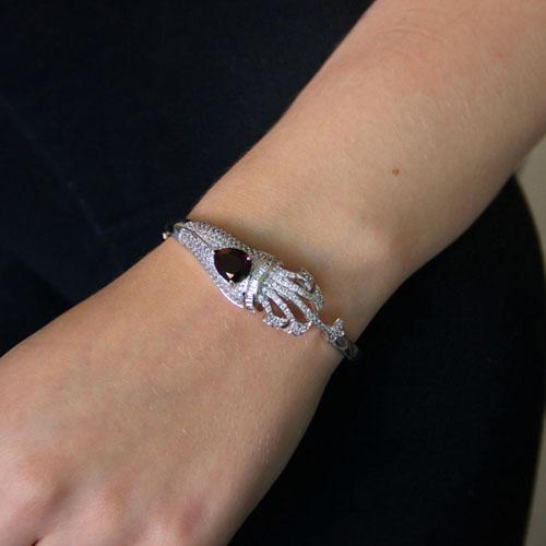 bracelet femme argent zirconium 9600104 pic4