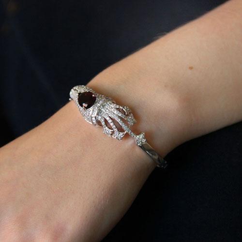 bracelet femme argent zirconium 9600104 pic5