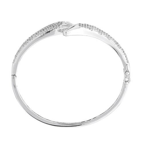 bracelet femme argent zirconium 9600105 pic2