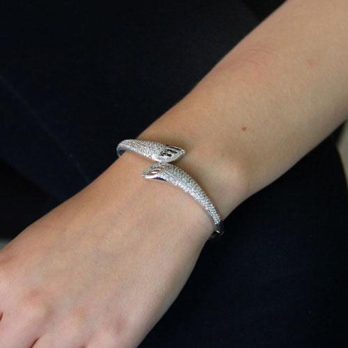 bracelet femme argent zirconium 9600105 pic4
