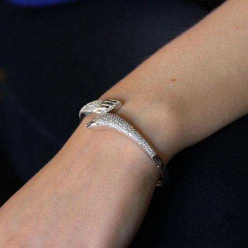 bracelet femme argent zirconium 9600105 pic5