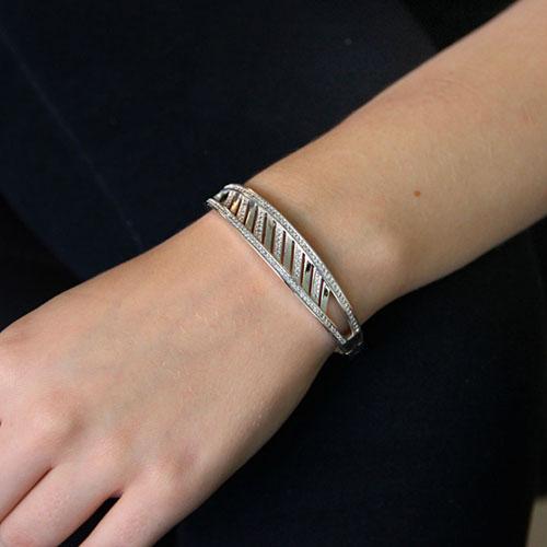 bracelet femme argent zirconium 9600106 pic4