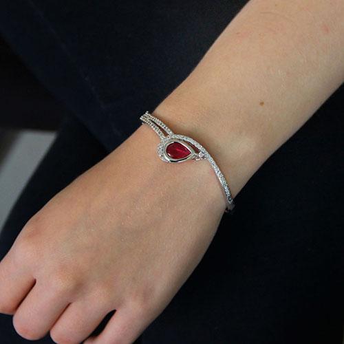 bracelet femme argent zirconium 9600107 pic4