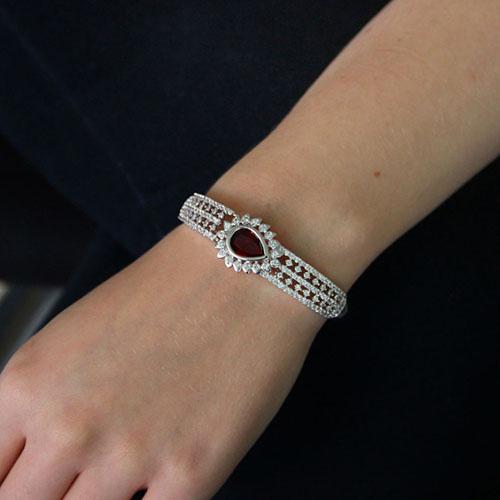 bracelet femme argent zirconium 9600108 pic4
