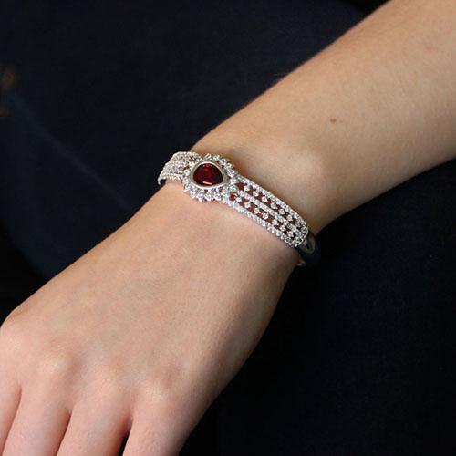 bracelet femme argent zirconium 9600108 pic5